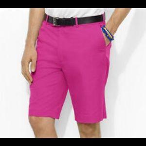 Ralph Lauren RLX Pink Golf Shorts